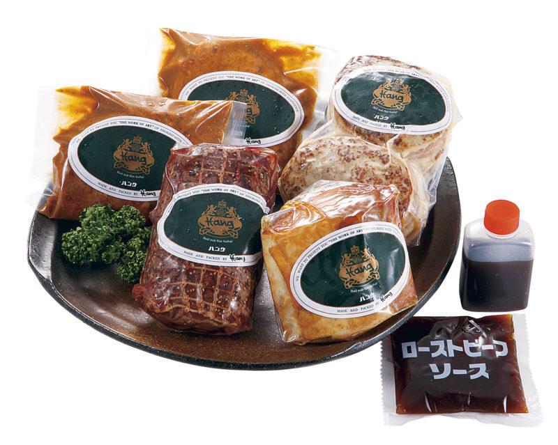 ハング ローストビーフ&焼豚